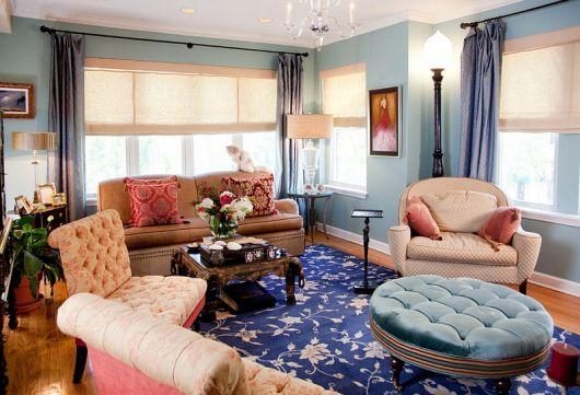 Dê um toque diferente na decoração com um tapete estampado