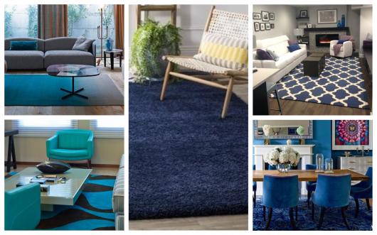 2d82db543851e Que tal investir em um tapete azul para sua casa? Confira nossas dicas!