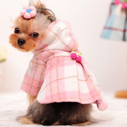 vestido para cachorro roupas de inverno