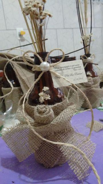 Misturar juta com sisal é uma ótima opção para casamentos rústicos