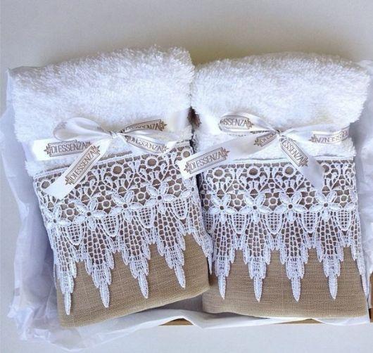 Kit de toalhas para lavabo