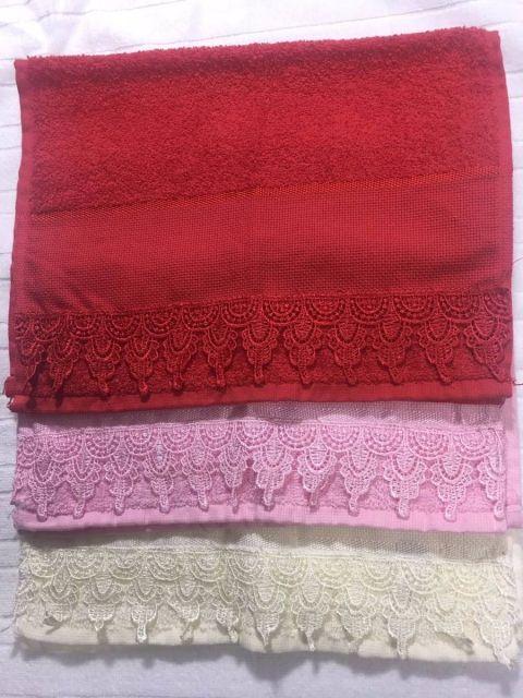 O kit pode ter toalhas de cores diferentes