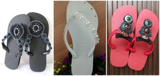 modelos de chinelos