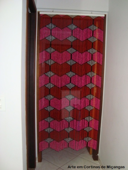 cortina com desenho