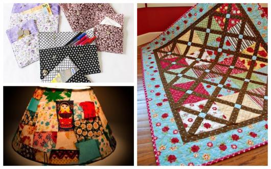 Há uma infinidade de coisas que você pode fazer usando retalhos de tecido