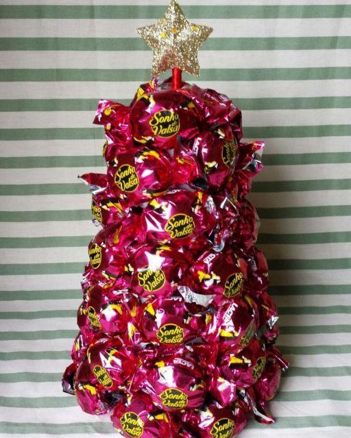 É uma forma econômica de fazer árvore de Natal