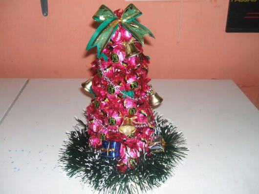 Dica para decorar árvore de natal de bombom sonho de valsa