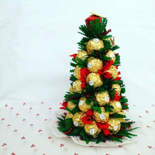 Árvore de Natal de bombom