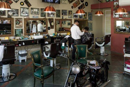 Muito bacana esse conceito, bem diferente das barbearias convencionais!