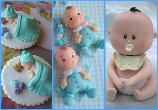 Bebê de biscuit inspirações