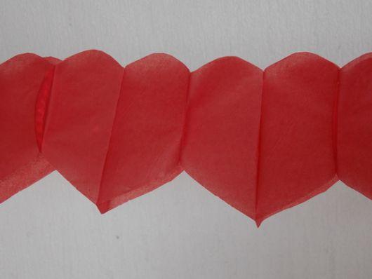 Como fazer coração de papel grudado