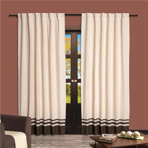 Como fazer cortinas: para sala branca