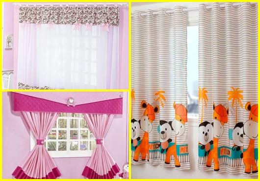 Como fazer cortinas: modelos
