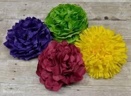 Como fazer flor de papel seda roxa