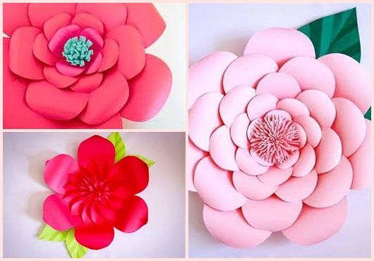 Como Fazer Flor De Papel 65 Ideias Incríveis Passo A