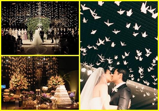 Como fazer tsuru: para decoração de casamento