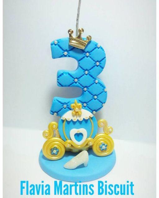 Como fazer velas de biscuit para aniversário