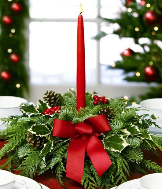 Como fazer velas de Natal