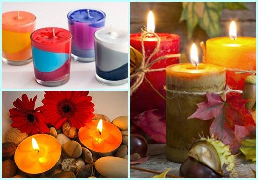 Modelos de velas decorativas