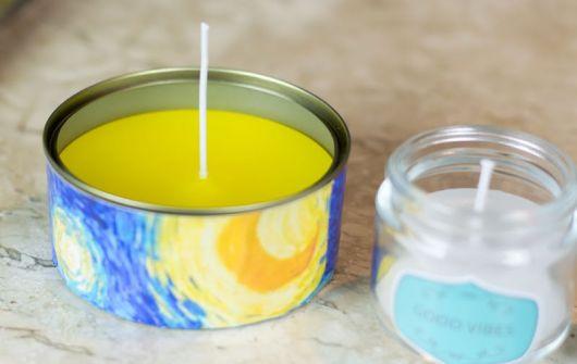 Como fazer velas de citronela