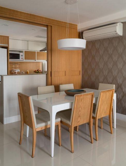 cozinha com sala de jantar