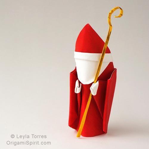 enfeite de origami