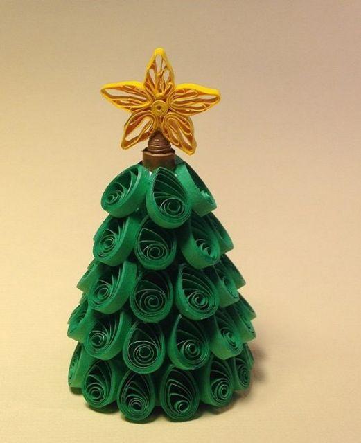 árvore de natal quilling