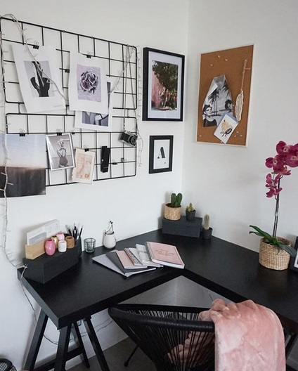 Você pode criar um home office incrível com esse móvel versátil
