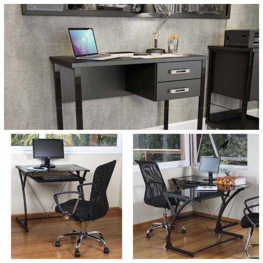 Escolha uma cadeira confortável e que se complemente perfeitamente à escrivaninha, assim como os demais itens/acessórios
