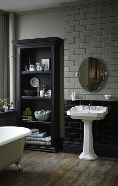 lavabo retrô estilo industrial