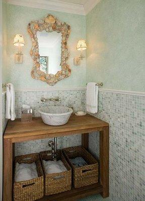 lavabos rústicos simples