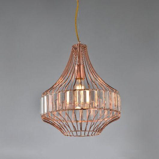 Luminária pendente com design diferente para você que deseja inovar