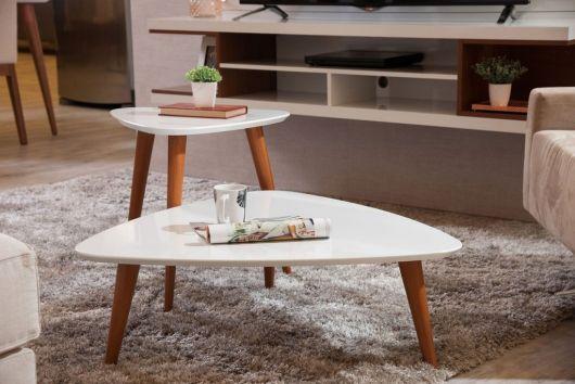 Duas mesas perfeitas para ornamentar a sala
