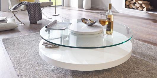 Modelo redondo com vidro, prática e funcional