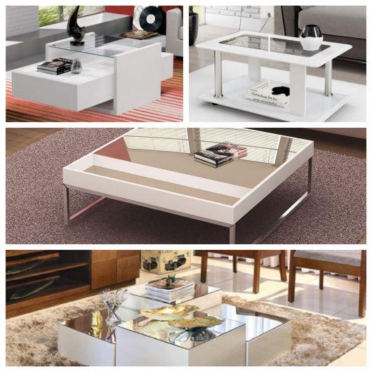 Da laqueada à espelhada, há mesas de vários tipos, modelos e formatos