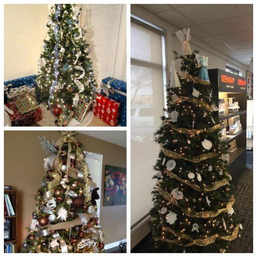 Quanto maior o tamanho de sua árvore, melhores serão as possibilidades de decoração com diversos laços