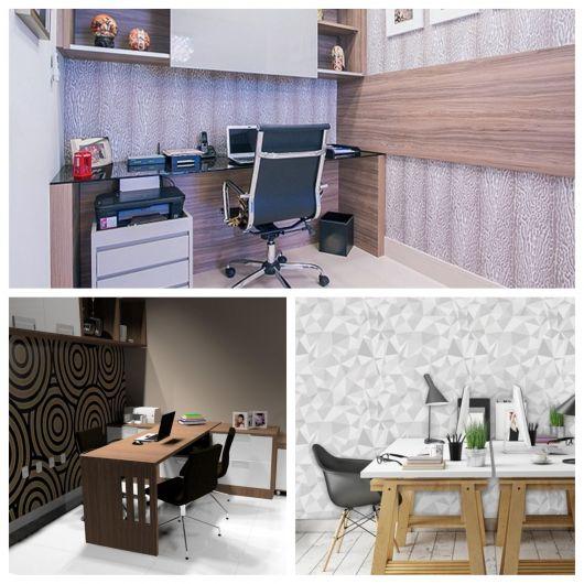 As texturas mudam e definem a estética ideal para seu escritório