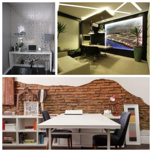 Do clássico ao moderno, do alternativo ao rústico: qual papel de parede para escritório é ideal para seu espaço?