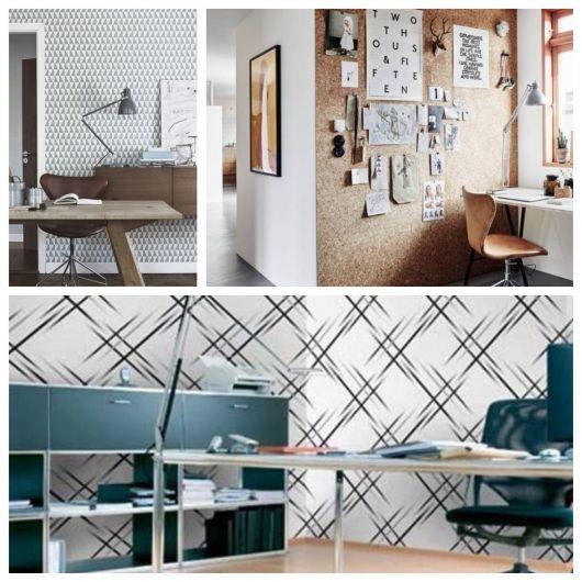 Há modelos para qualquer tipo de escritório, dos pequenos offices aos de grandes corporações
