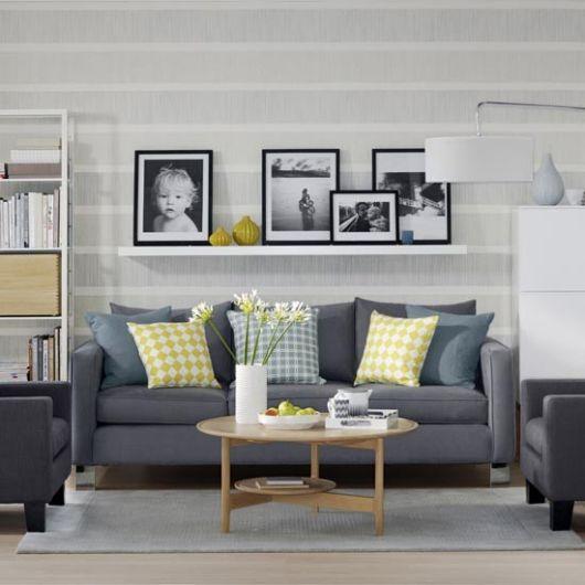 Escolha quadros que combinem com o estilo de sua sala