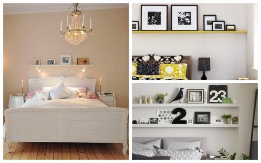 Inspirações para você investir na prateleira em quartos