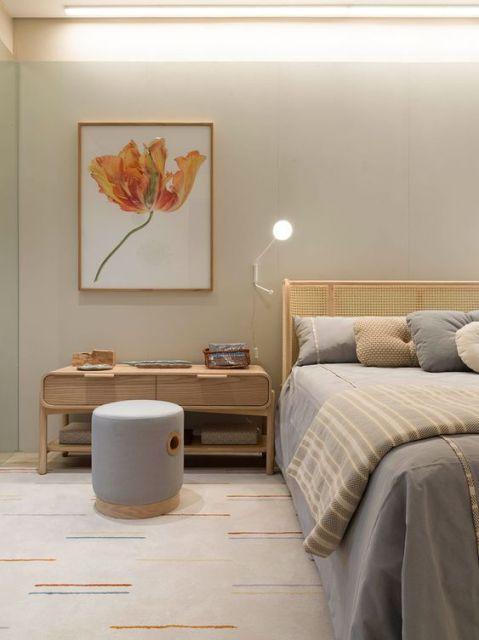 puff moderno para quarto