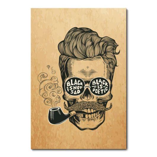 Desenho temático para decorar barbearia