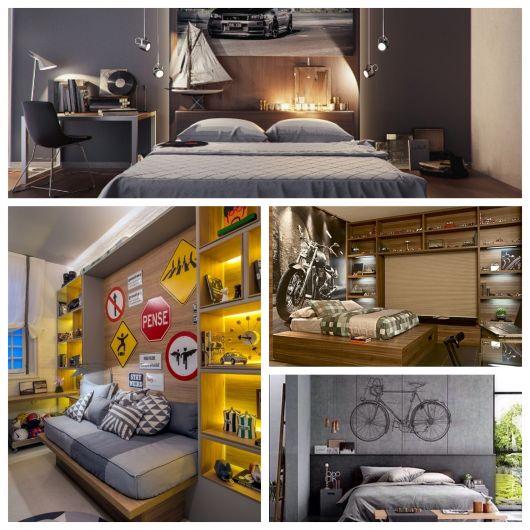 8 melhores cores para quarto masculino + dicas e 100 fotos