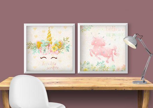 quadros unicornio