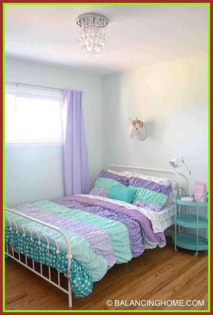 Você pode montar um quarto de unicórnio com cores pasteis