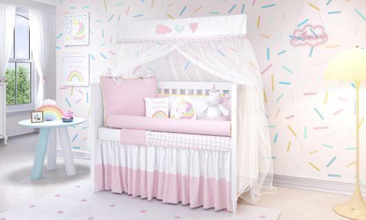 Também tem quarto unicórnio para bebê!