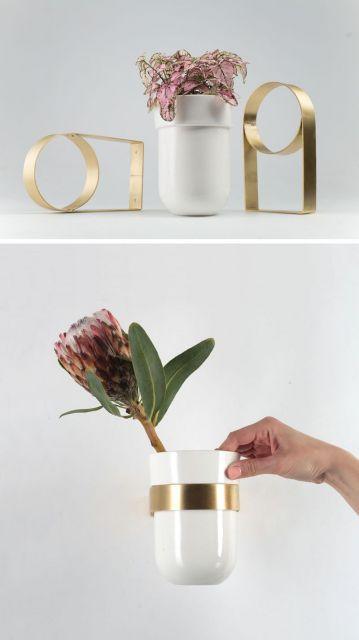 Dica para deixar o vaso branco mais sofisticado