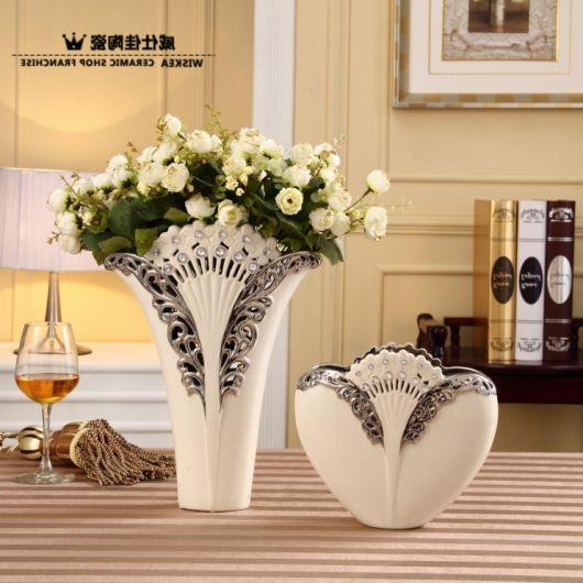 Vaso branco ideal para decoração provençal