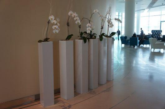 Conjunto de vasos grandes para decorar salões